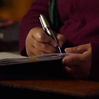 nk jemison hand writing
