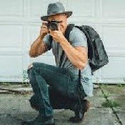 Ryan Snaadt taking a photo