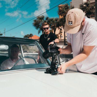 Car mount camera